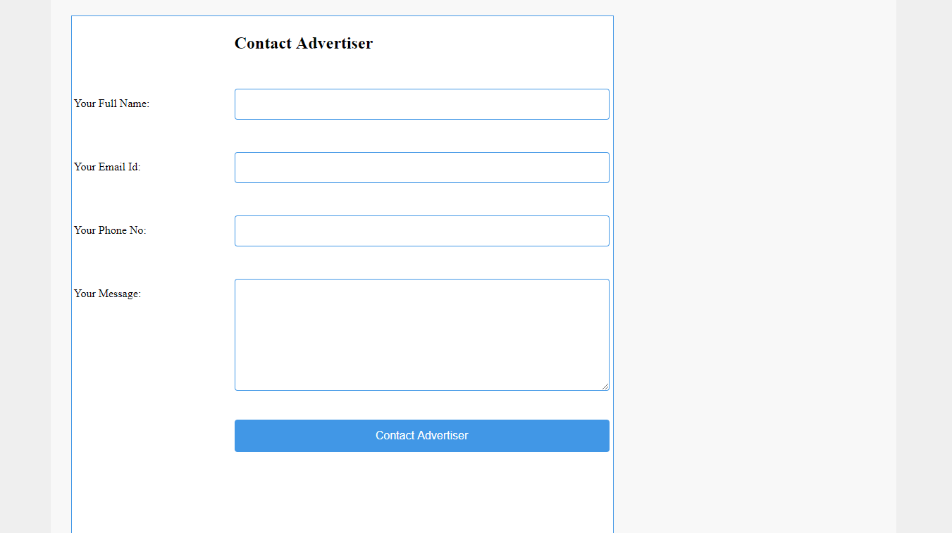 Responsive Blue Classy Search Ads Page